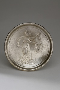 253. Plate with Maenad