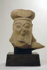 090. Male Head - Archaic