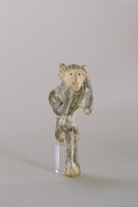 093. Seated Figure - Archaic