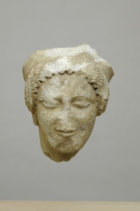 125. Head of Kore - Archaic