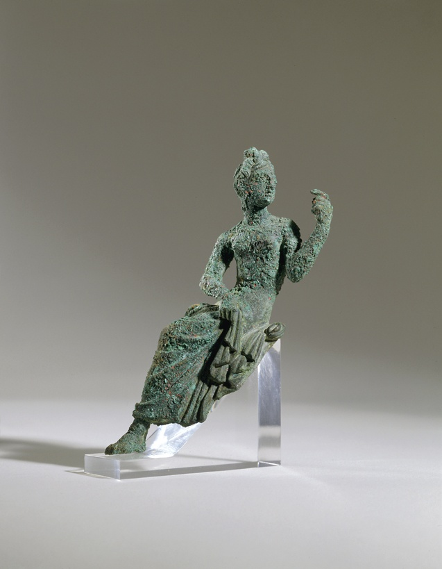 162. Seated Young Woman (applique) - Hellenistic