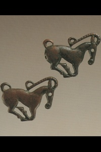 214. Galloping Ibex (appliques)