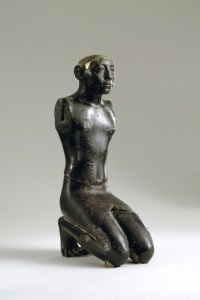 037. Kneeling Figure Of Amenemhat III (1843-1798 B.C.)