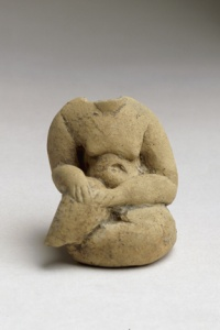 044. Seated Idol - Neolithic